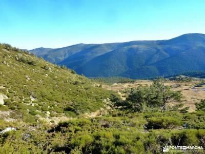 Peña Citores-Cumbres y Lagunas Peñalara; blog senderismo el salto del nervion parque natural tabla